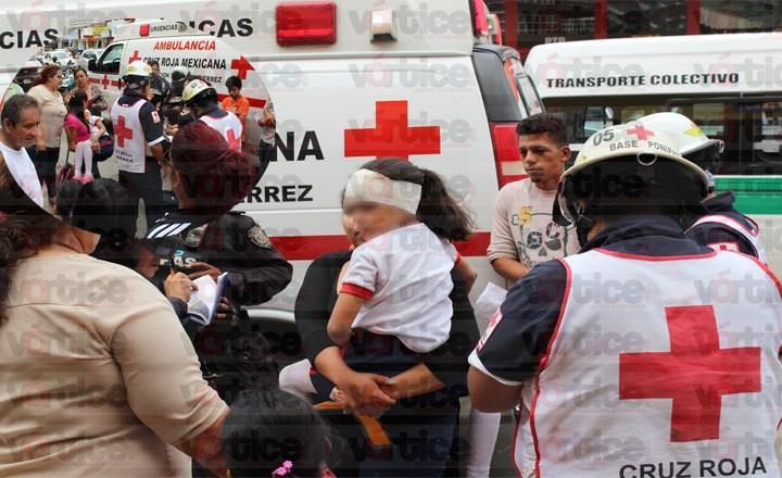 Taxista atropella a niña; iba con exceso de velocidad