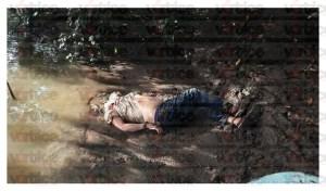 Encuentran cadáver a orilla del río; presentaba signos de tortura