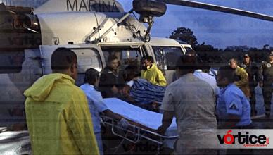 Muere piloto tras accidente aéreo en altamar; su copiloto continúa en el hospital