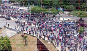 Vincula MOCRI-EZ a la FGE en asesinato de su líder; realizan protestas en Tuxtla