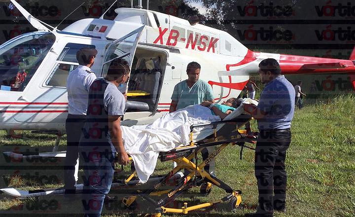 Desaparece helicóptero del Gobierno de Chiapas que trasladaba a una paciente
