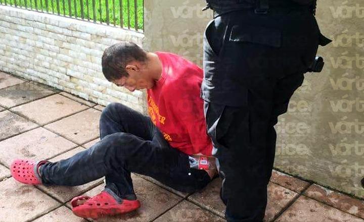 Detienen a presunto asaltante que se hacía pasar de limpiaparabrisas para robar