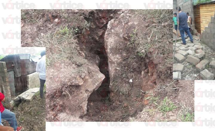 En el olvido colonia de Chiapa de Corzo tras terremoto; exigen apoyo del Presidente Municipal