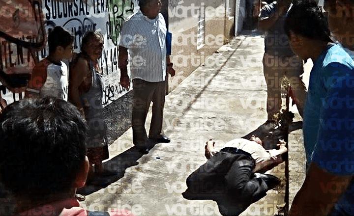 Balean en la oreja a contador en Plan de Ayala; está grave en el hospital