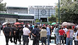 Policías exigen a la federación investigue presunto enriquecimiento de la SSyPC