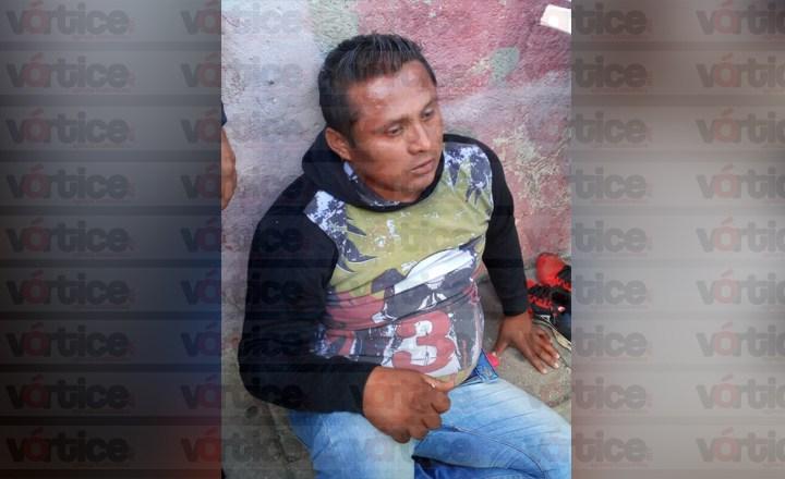 Asaltó una zapatería y a una dama en la zona centro; fue detenido