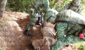 Desmantela Sedena escondite de grupo armado en Chalchihuitán