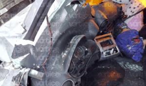 Muere conductor y acompañante en un accidente en la carretera a La Angostura