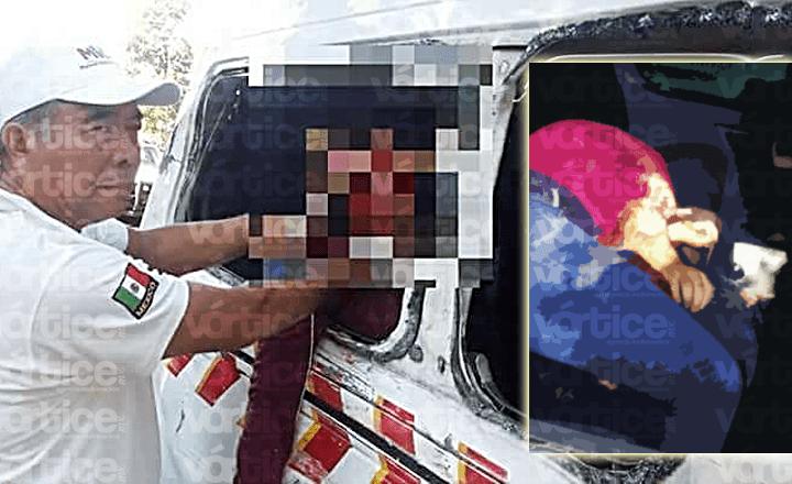Mueren dos pasajeros de un colectivo en Huehuetán tras accidente