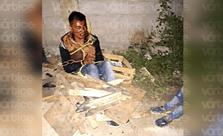 Casi linchan a presunto ladrón en San Cristóbal de Las Casas