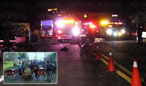 Encontronazo en el Puente Chiapas deja cuatro muertos y tres heridos