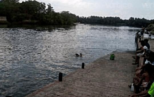 Encuentran cadáver de la niña ahogada en el Río Grijalva
