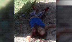 Localizan cadáver de joven con heridas en el cuello en Mezcalapa