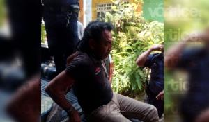 Acuchillan a septuagenario en presunta riña; hay 2 detenidos