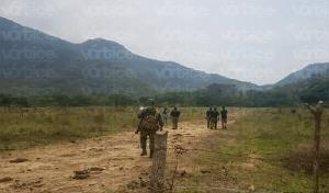 Aseguran pista aérea clandestina en Villaflores