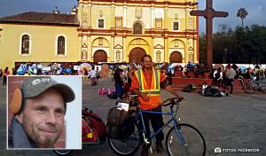 Hallan cadáver de ciclista en Chiapas; podría tratarse del polaco desaparecido