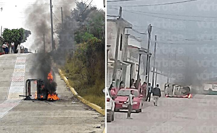 Se desata enfrentamiento entre transportistas en Altamirano