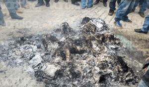 Queman boletas en Chalchihuitán para evitar reconteo de votos