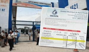 Denuncian que SMAPA se queda con donativos destinado a Bomberos de Tuxtla