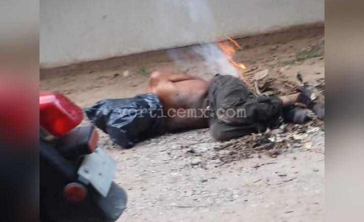 Torturan y queman a un hombre en Frontera Comalapa