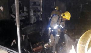 Voraz incendio acaba con patrimonio familiar en Chiapa de Corzo