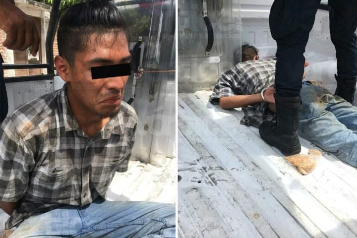 Casi linchan a presunto ladrón en Chiapa de Corzo