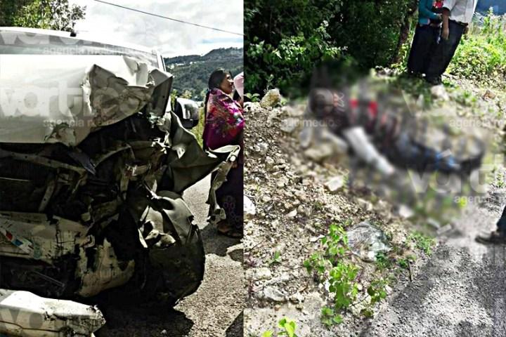 Muere primer regidor de Zinacantan en volcadura