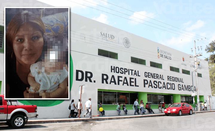 Piden se investigue muerte de madre y bebé en hospital de Tuxtla