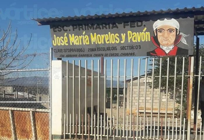 Roban bomba de agua de una escuela primaria en Chiapa de Corzo
