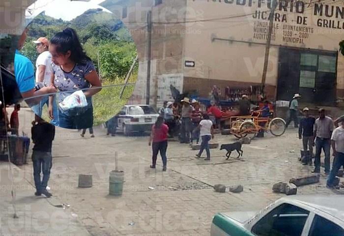 Se desata balacera en Bochil por conflicto postelectoral