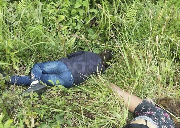 ¡Feminicidio! Asesinan a mujer y niña en Jitotol