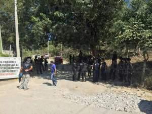 Balacera en Los Sabinos deja tres heridos entre ellos dos policías