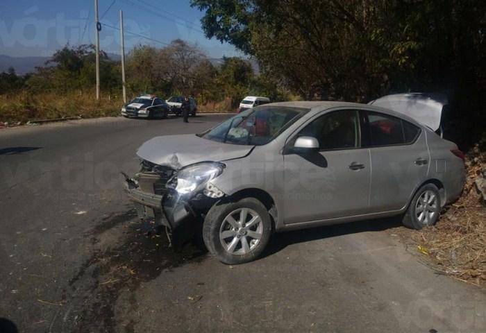 Accidente carretero deja una persona herida en Copoya