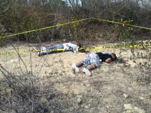 Investiga Fiscalía hallazgo de dos hombres muertos en Berriozábal