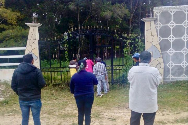 Restituye FGE predio a legítimo propietario en La Trinitaria