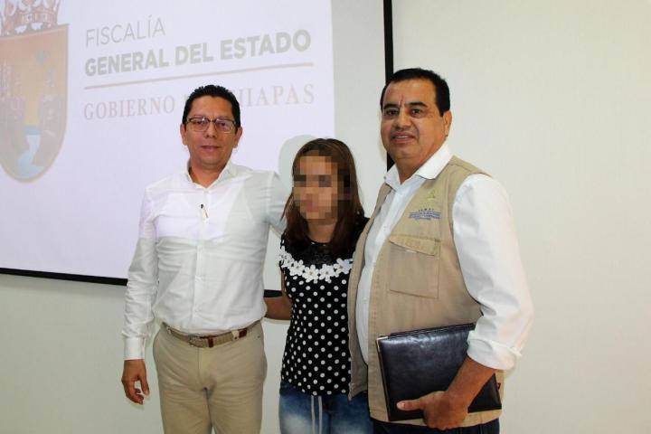 Rescata Fiscalía a menor hondureña víctima de trata y la entrega a consulado