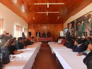 Realiza Sedespi Primera Mesa de Trabajo Interinstitucional con Chanal