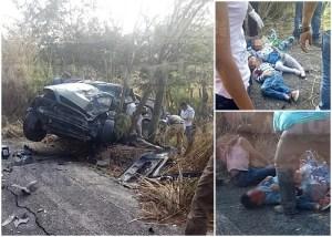 Carambolazo en Suchiapa deja muertos y heridos