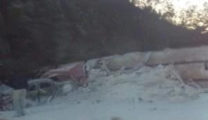 Encontronazo en la carretera Tuxtla – San Cristóbal; hay 2 heridas