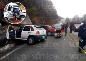 Muere sexagenaria en violento accidente en Teopisca