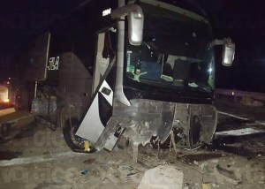 Violento accidente en Tonalá provoca movilización policiaca