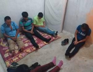 Rescatan a indocumentados en Chiapa de Corzo