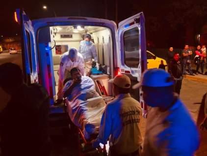 El herido fue llevado al Hospital de Las Culturas