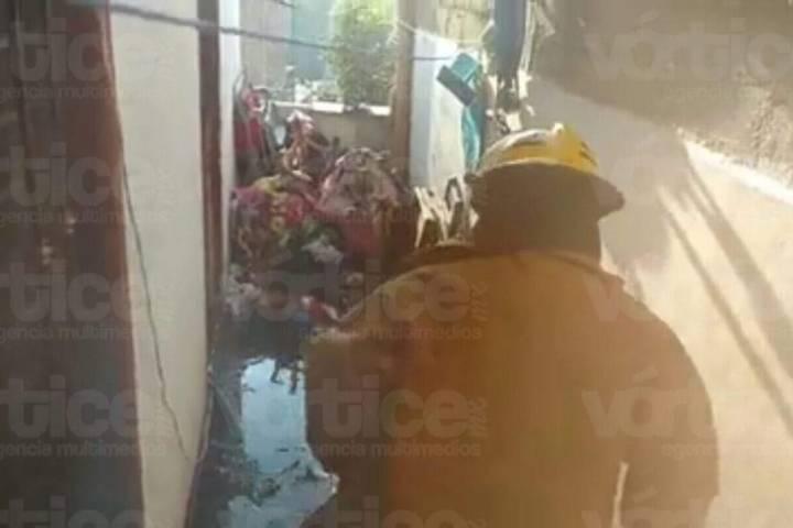 Mueren dos niños calcinados por incendio en Chiapa de Corzo