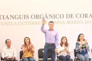 Damos el valor adecuado a los productores para detonar el desarrollo de Chiapas: Rutilio Escandón