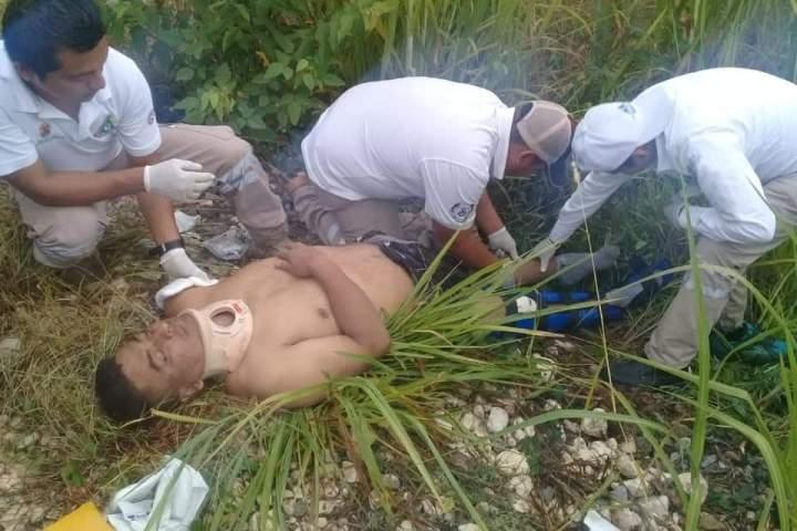 Migrante queda con el brazo mutilado tras caer de La Bestia