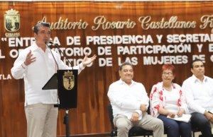 Chiapas suma esfuerzos para arraigar una nueva cultura de igualdad de género