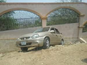 Accidente casi termina en tragedia