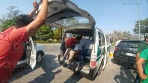 """Colectivazo"" deja ocho heridos"
