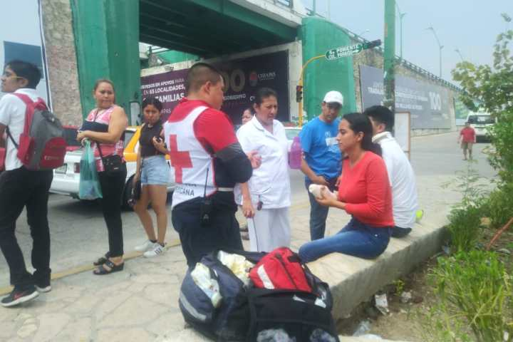 """Colectivazo"" deja cinco heridos"